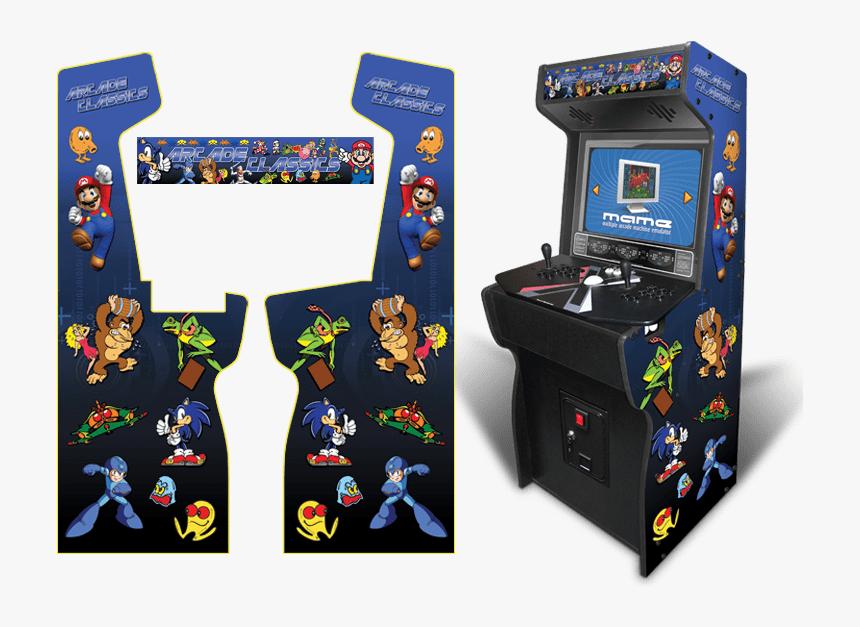 Blue Classics Full - Marvel Vs Capcom Clash Of Super Heroes Arcade Cabinet, HD Png Download, Free Download