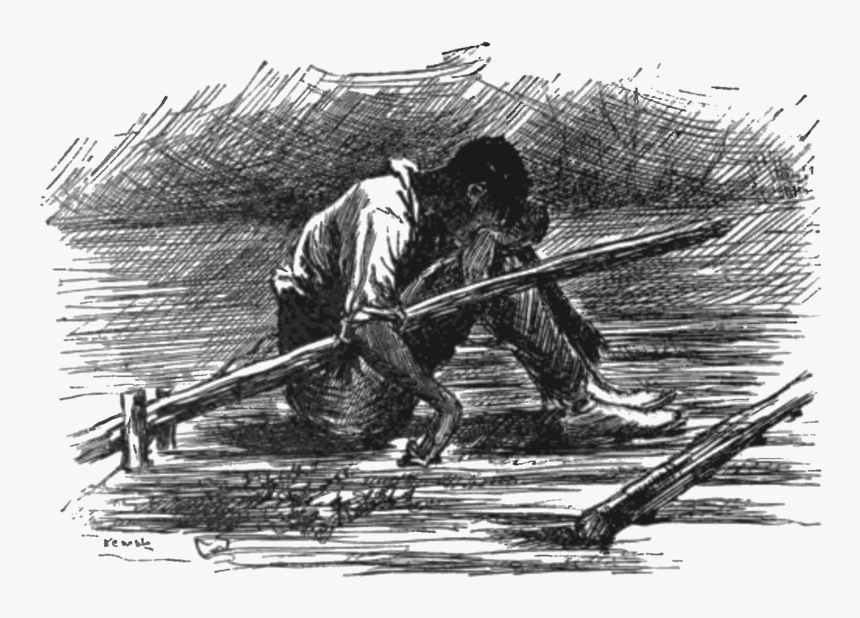 Jim The Adventures Of Huckleberry Finn, HD Png Download, Free Download