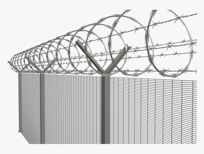 Barbed Wire Fence Png, Transparent Png, Free Download