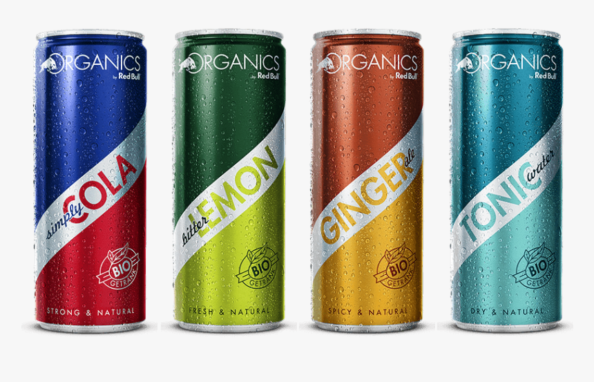 Organic Cans - Red Bull Bio, HD Png Download, Free Download