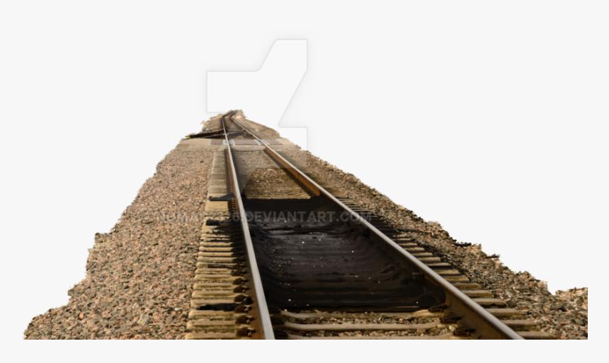 Track - Rail Road Transparent Tracks Png, Png Download, Free Download