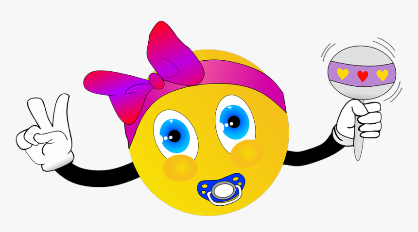 Baby, Accessories, Loop, Rattle, Baby Rattle, Pacifier - Cartoon, HD Png Download, Free Download