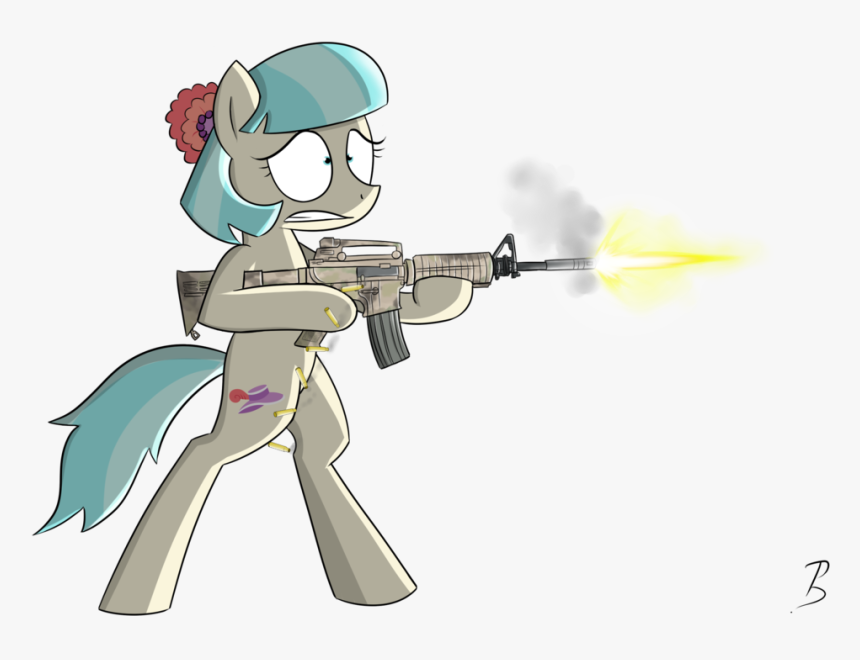 My Little Pony Clipart Gun Png - Mlp Pony Gun, Transparent Png, Free Download