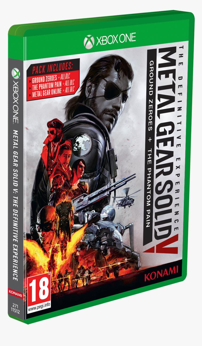 Metal Gear Solid V The Phantom Pain Steelbook, HD Png Download, Free Download