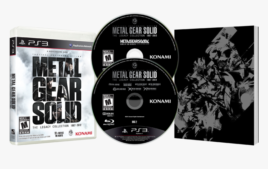 Metal Gear Solid The Legacy Collection 1987 2012 Ps3, HD Png Download, Free Download