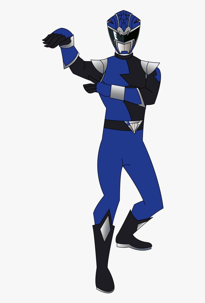 Power Rangers Hyperforce Blue Ranger, HD Png Download, Free Download
