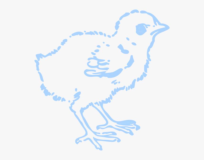 Blue Chick Svg Clip Arts - Illustration, HD Png Download, Free Download