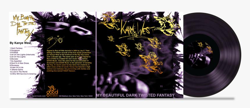 My Beautiful Dark Twisted Fantasy Png Download Kanye West Good Fridays Transparent Png Kindpng