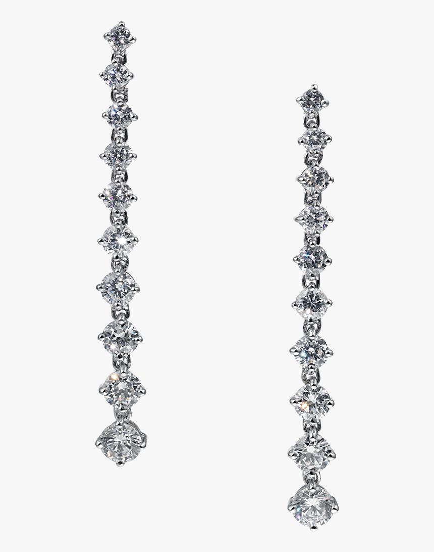Angelina Diamond Strand Earrings - Earrings, HD Png Download, Free Download