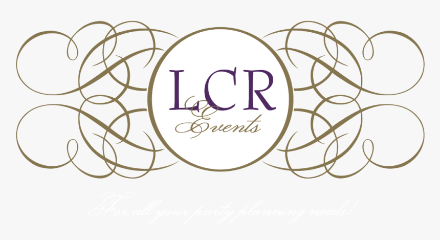 Lcr Events By Lauren Malang Stanco For All Your Party - Graphic Line Art, HD Png Download, Free Download