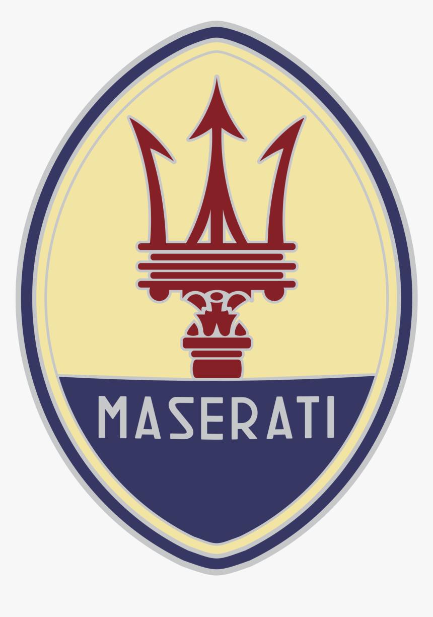 Maserati Logo Png Transparent - Old Maserati Logo, Png Download, Free Download