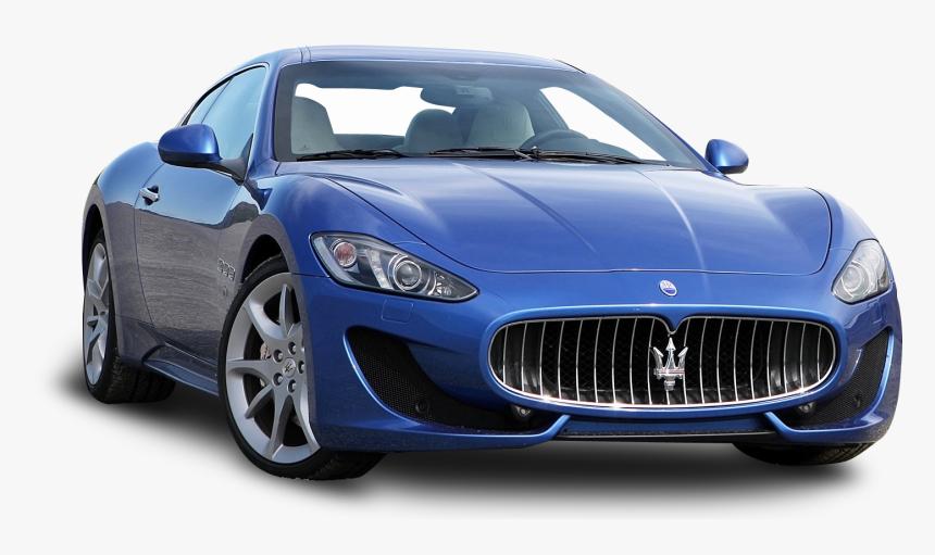 Blue Maserati Granturismo Sport Duo Car Png Image, Transparent Png, Free Download