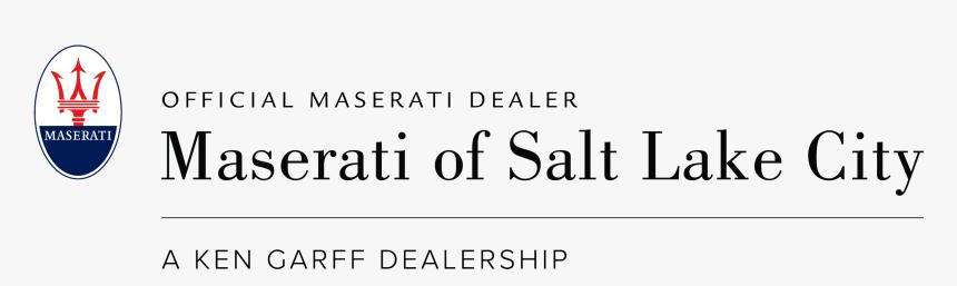 Maserati Of Salt Lake City - Maserati, HD Png Download, Free Download