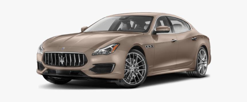 2019 Maserati Quattroporte In Gold - 2019 Maserati Ghibli Quattroporte, HD Png Download, Free Download
