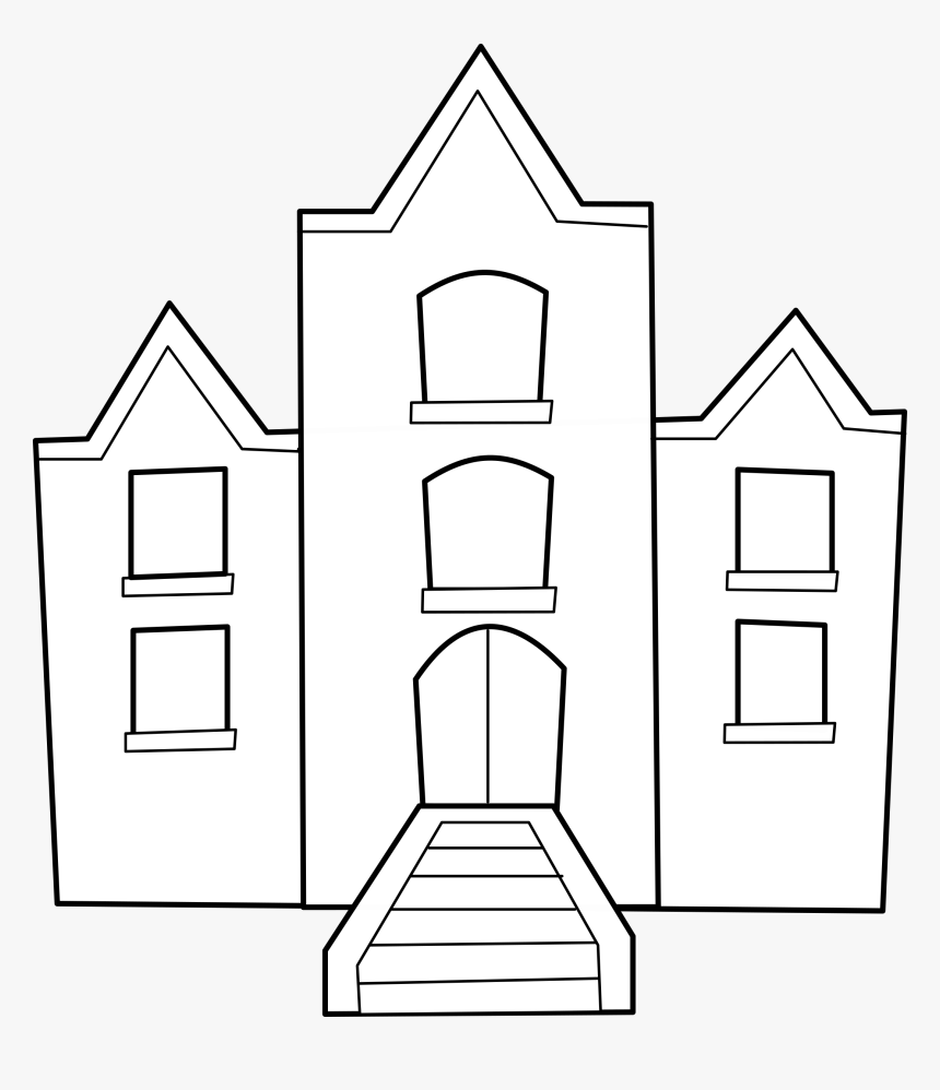 School Building Clip Art, HD Png Download, Free Download