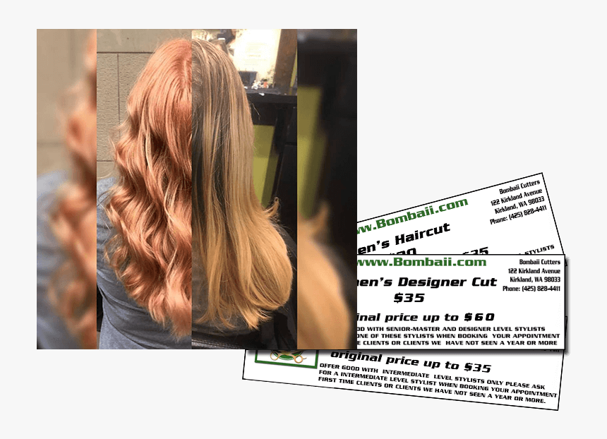Hairdo Before And After - Blond, HD Png Download, Free Download