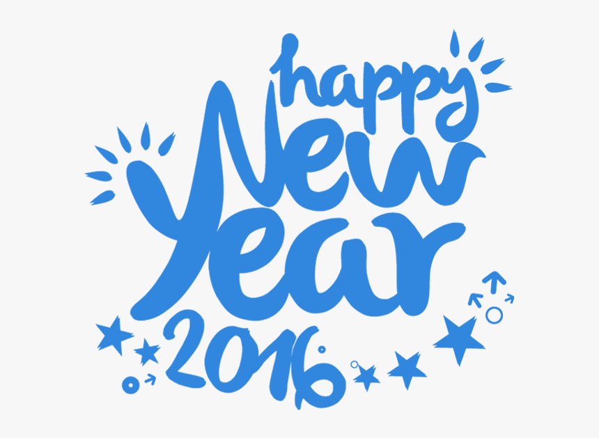 Transparent Happy New Year 2016 Png Calligraphy Png Download