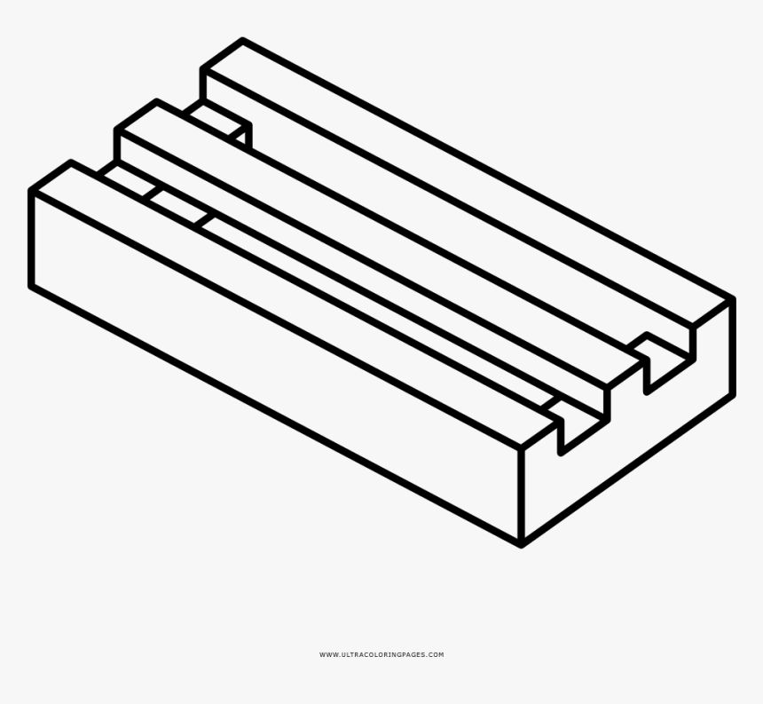 Lego Brick Coloring Page - Lego Parts Coloring Pages, HD ...