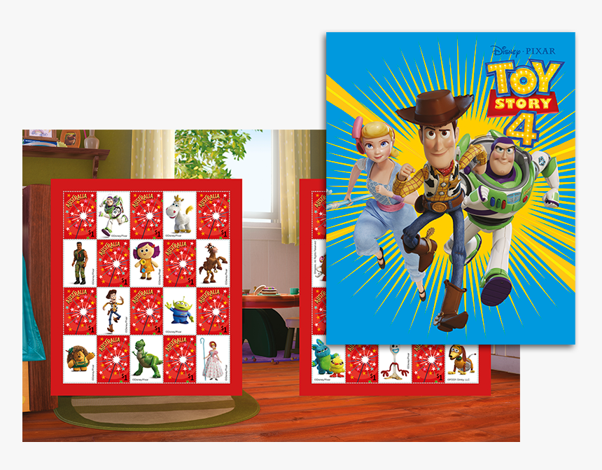 Toy Story 4 Stamp Pack - Disney Postage Stamp Toy Story, HD Png Download, Free Download