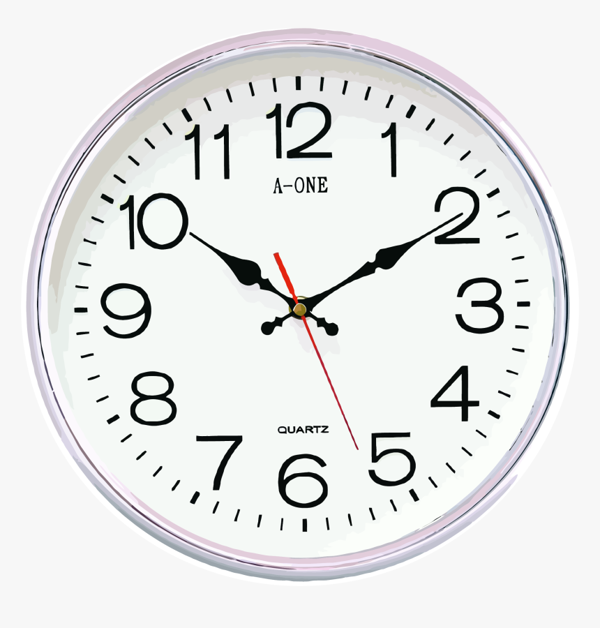 Transparent Wall Clock Clipart - Wall Clock Vastu, HD Png Download, Free Download