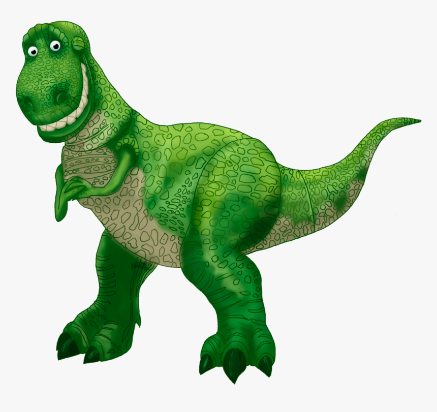 Toy Story 1 Characters Rex Pixshark Images Clipart - Toy Story Characters Png, Transparent Png, Free Download