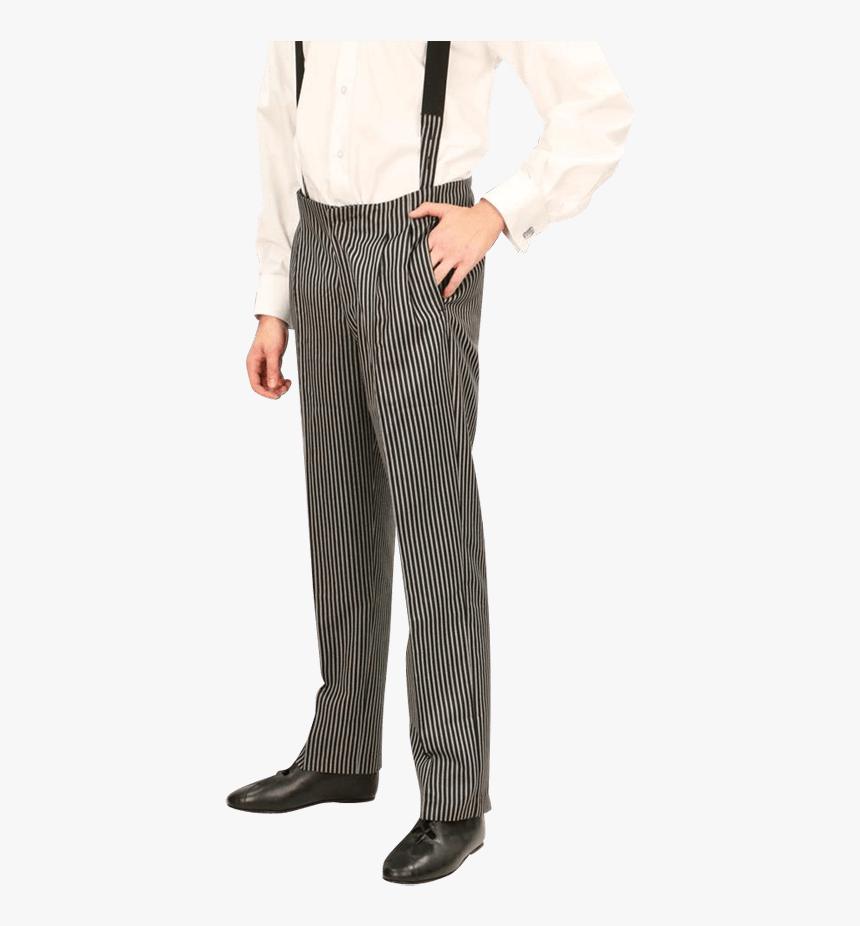Pinstripe Steampunk Pants - Pajamas, HD Png Download, Free Download