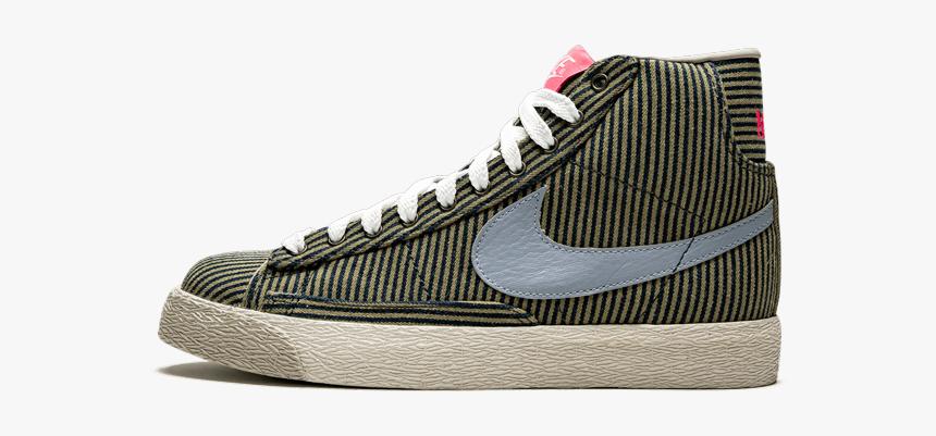 "Nike Wmns Blazer Mid Basic ""pinstripe - Basketball Shoe, HD Png Download, Free Download"