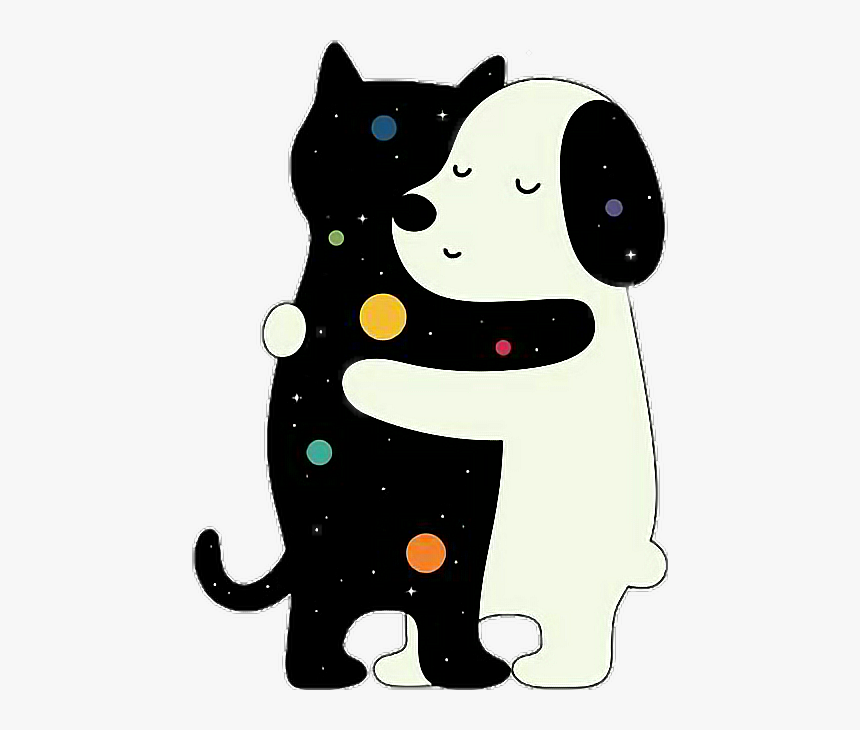 Tumblr Cat Png - Cat And Dog Png, Transparent Png, Free Download