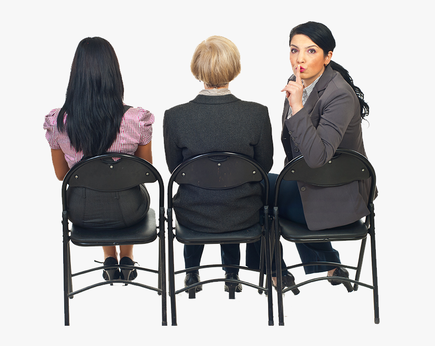 Women Sitting In Chairs, HD Png Download, Free Download
