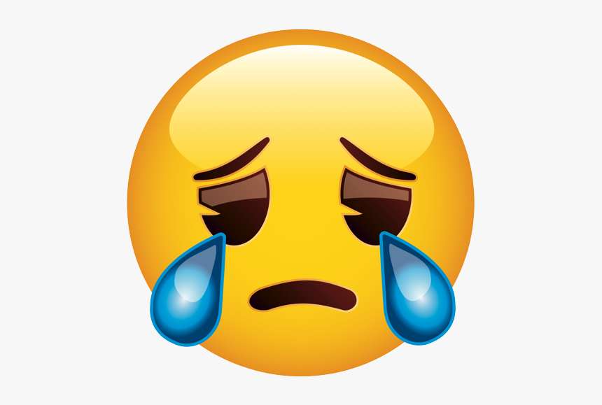 Crying Smiley, HD Png Download, Free Download