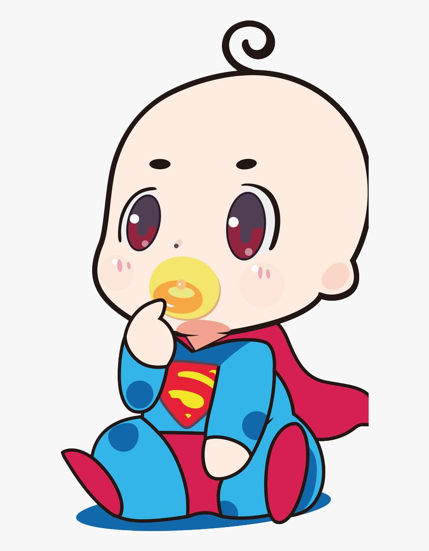Transparent Baby Superman Clipart Cute Baby Superman Cartoon Hd Png Download Kindpng