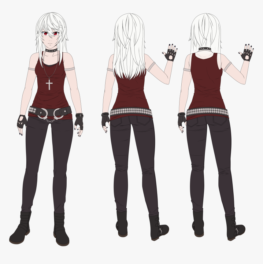Transparent Yandere Chan Png - Death Note Character Sheet, Png Download, Free Download