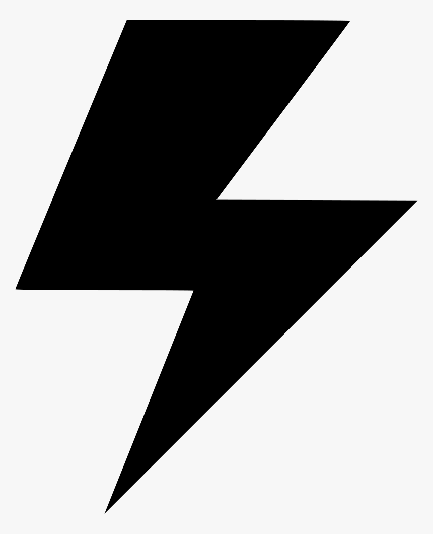 Flash Electricity Power Light Idea - Electricity Power Icon Png, Transparent Png, Free Download