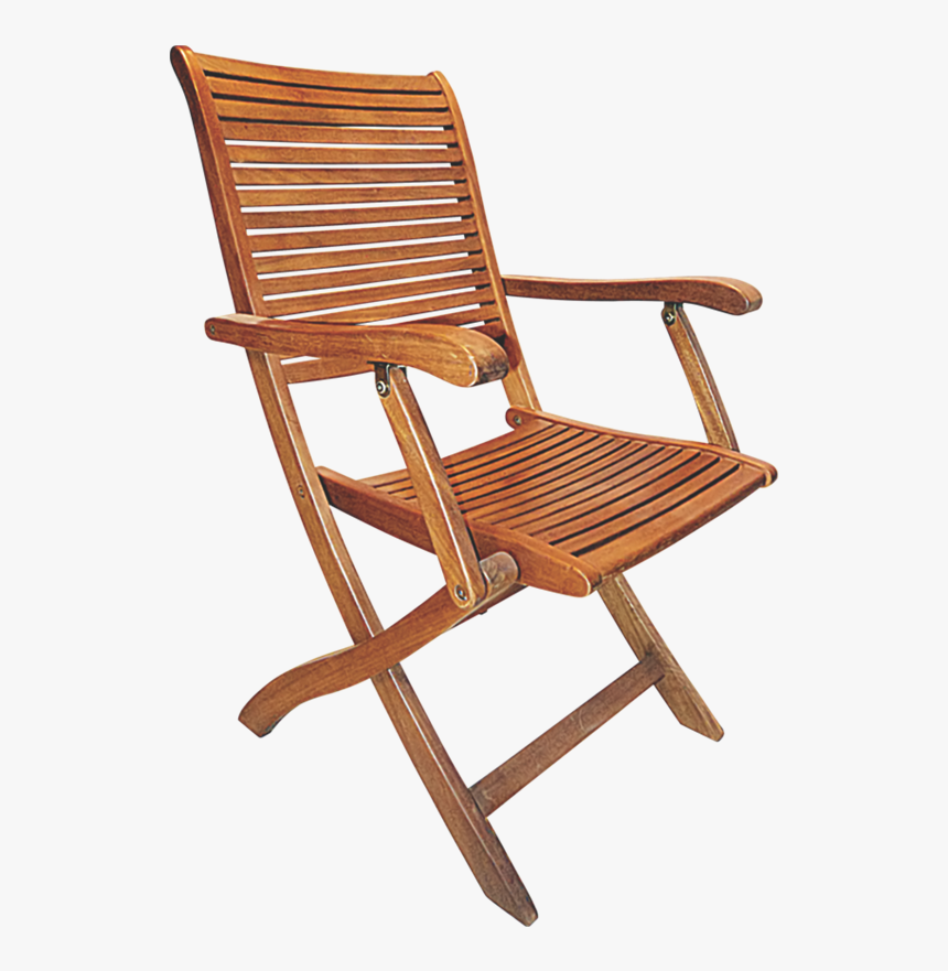 Pictures Of Primus King 8 Position Recliner Chair - Timber Folding Chairs, HD Png Download, Free Download