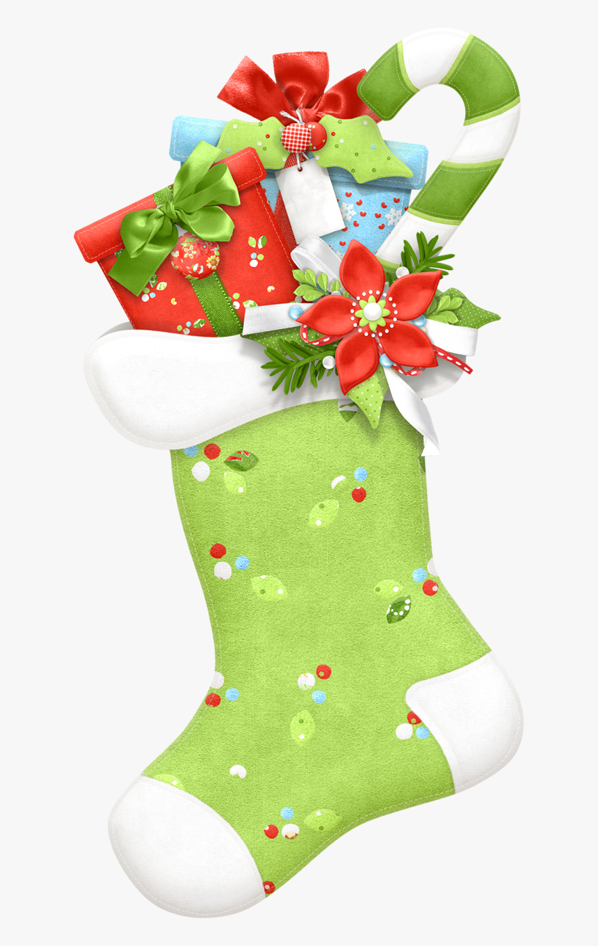 Transparent Hanging Christmas Stockings Clipart - Christmas Stocking Clipart, HD Png Download, Free Download