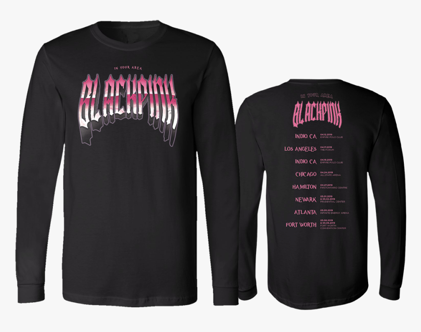 Blackpink T Shirt Official, HD Png Download, Free Download