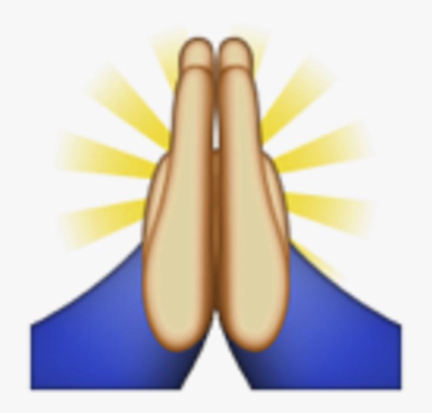 Hands In Prayer Emoji, HD Png Download, Free Download