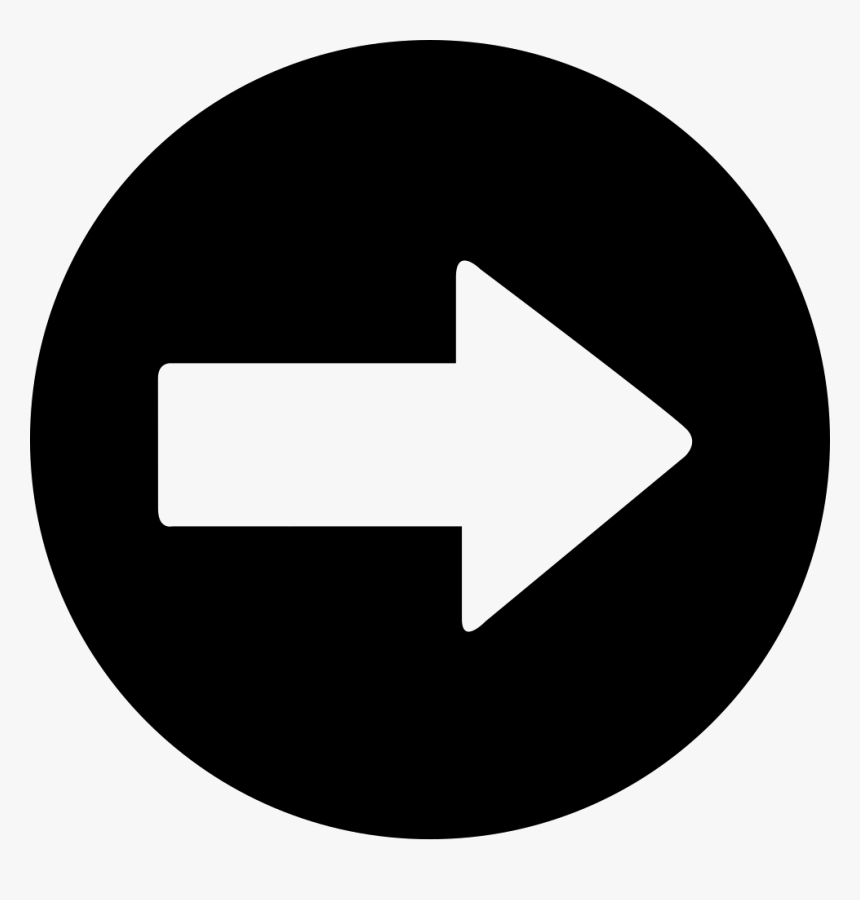 Arrow Pointing To Right - Fast Forward Rewind Buttons, HD Png Download, Free Download
