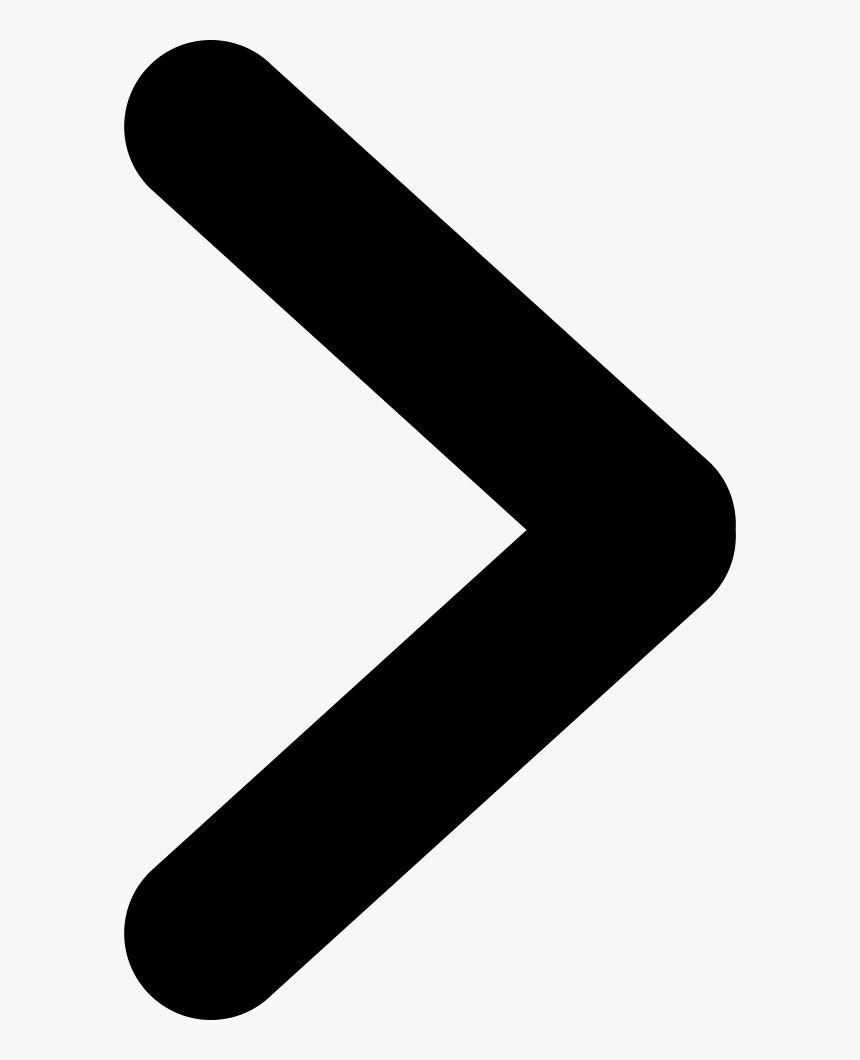 Angle Vector Arrow - Next Arrow Image Png, Transparent Png, Free Download