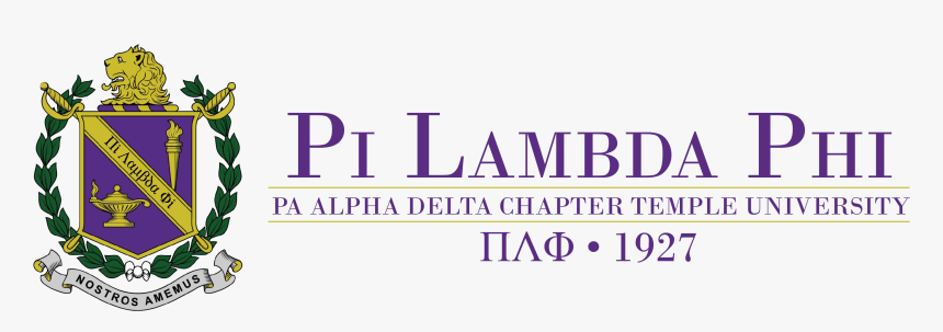 Pi Lambda Phi Temple University, HD Png Download, Free Download
