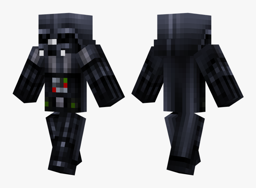 Minecraft Dark Steve Skin, HD Png Download, Free Download