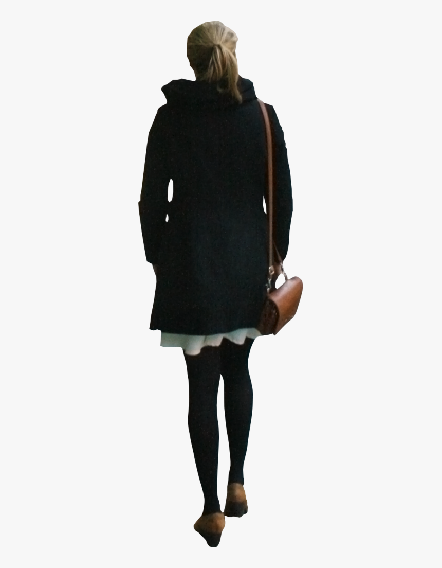 People Walking Away Cut Out, HD Png Download, Free Download