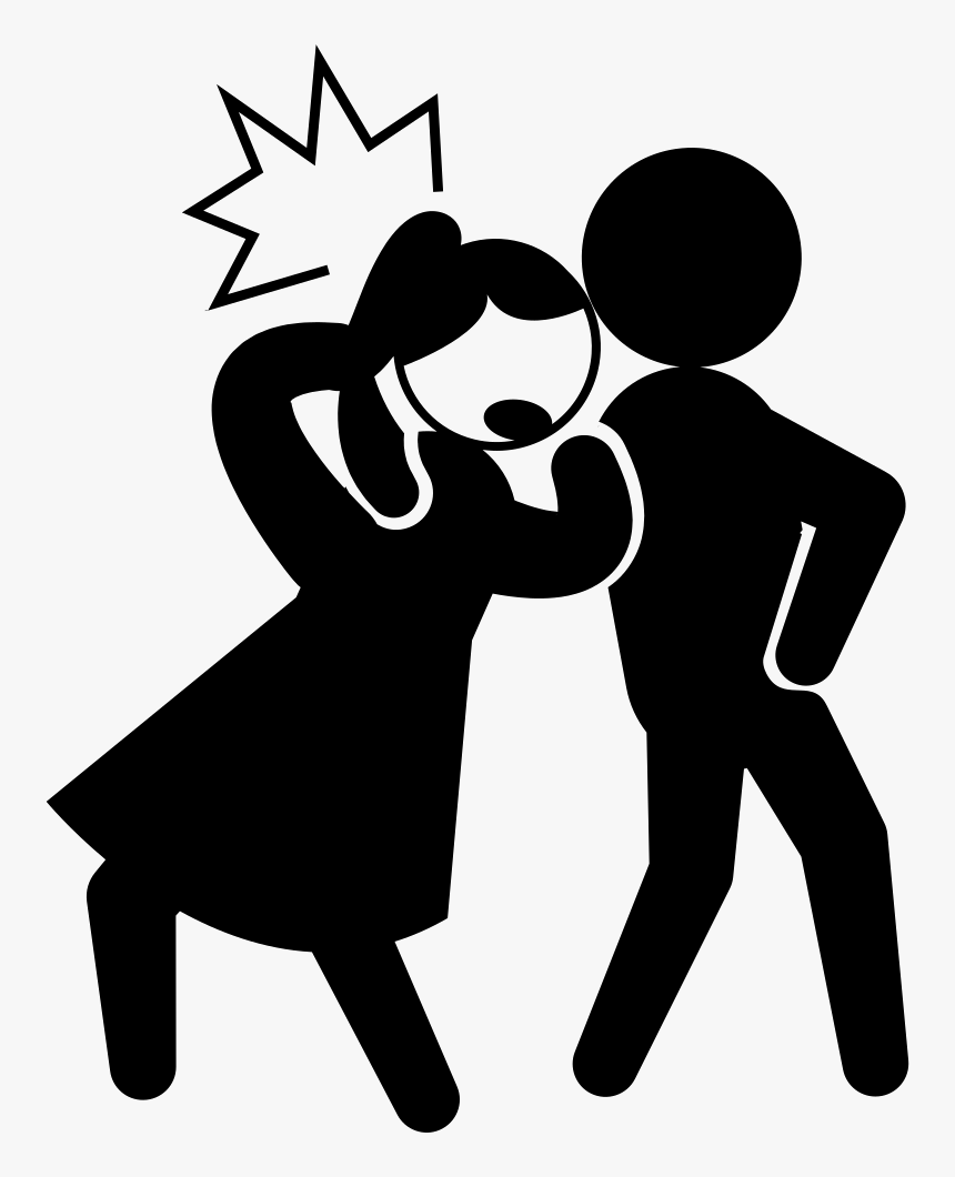 Criminal Kicking The Back Of The Head Of A Woman - Criminal Transparent, HD Png Download, Free Download
