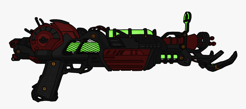 Iii Zombies Raygun Weapon - Ray Gun Mark 2 Png, Transparent Png, Free Download