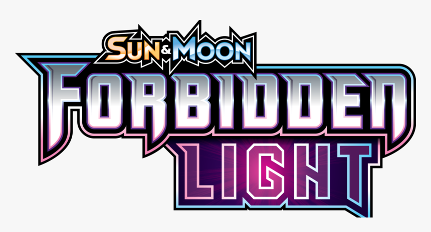 Pokemon Tcg Sun & Moon Forbidden Light Expansion Out - Logo Pokemon Sets Sun And Moon, HD Png Download, Free Download