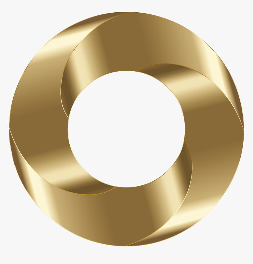 Shiny Copper Torus Screw Clip Arts - Gold Head Screw Transparent Hd, HD Png Download, Free Download