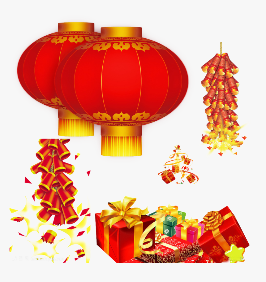 Chinese New Year Lantern - Chinese New Year Transparent, HD Png Download, Free Download