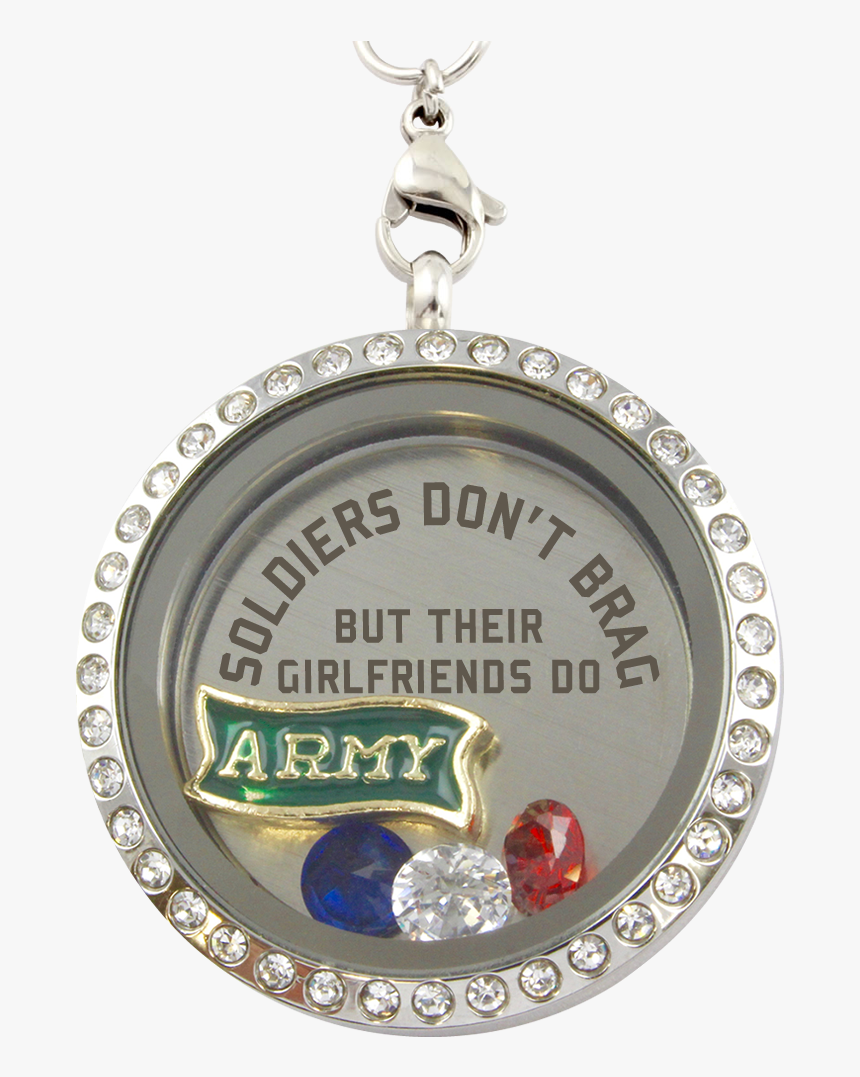 "Army Girlfriends Brag Charm Necklace""  Class= - Like Having Conversations With Kids, HD Png Download, Free Download"