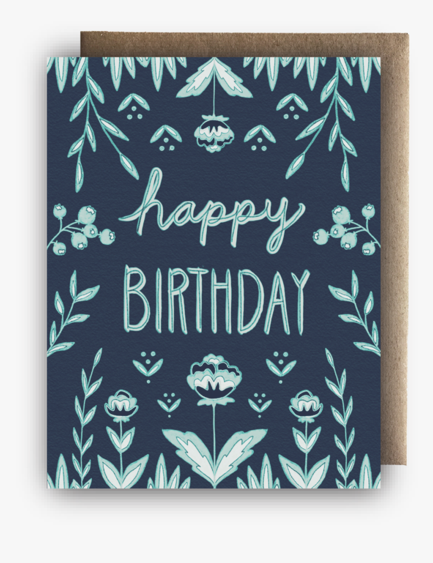 Happy Birthday Blue Display Photo - Construction Paper, HD Png Download, Free Download