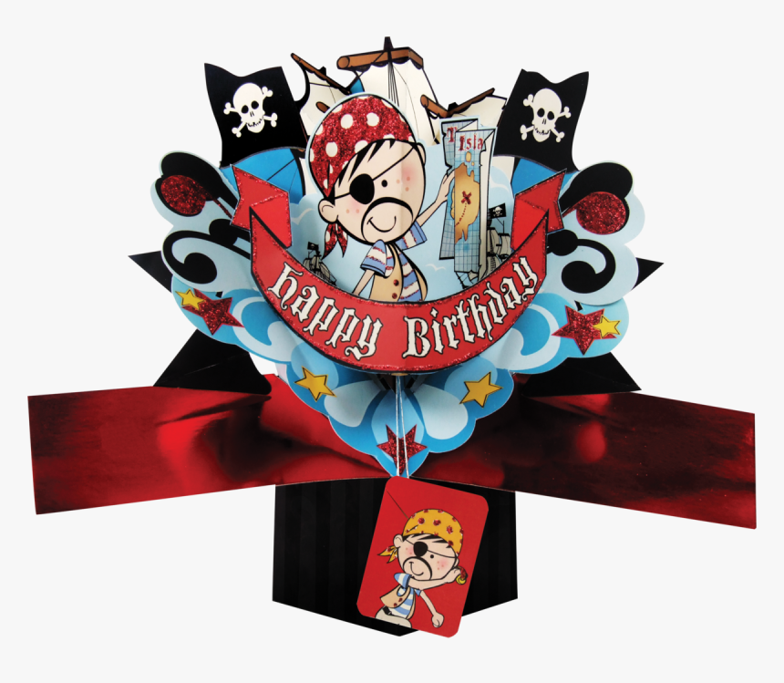 Product Images Of - Happy Birthday Pirate, HD Png Download, Free Download